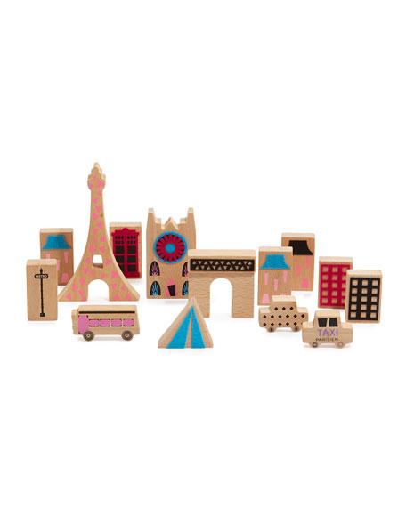 Once Kids Cityscape Wooden Blocks