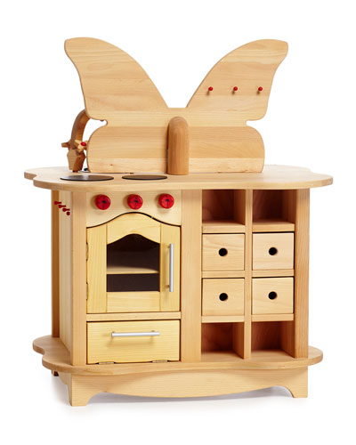 Wooden Butterfly Kitchen