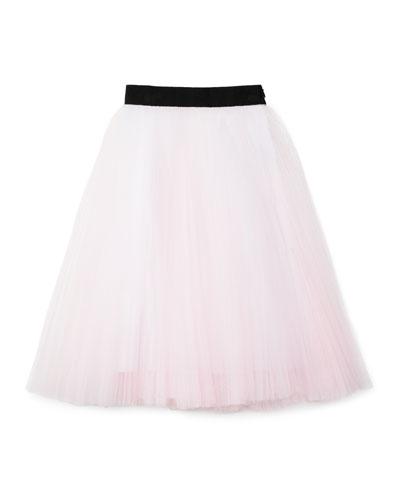Tulle Tea-Length Skirt, Size 8-14