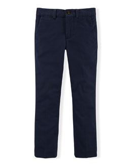 Stretch Slim-Fit Chino Pants, Size 2-7