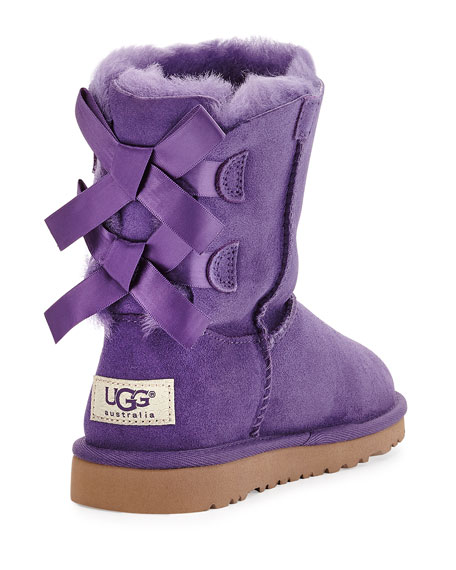 Bailey Boots with Bow, Kid Sizes 13-4Y