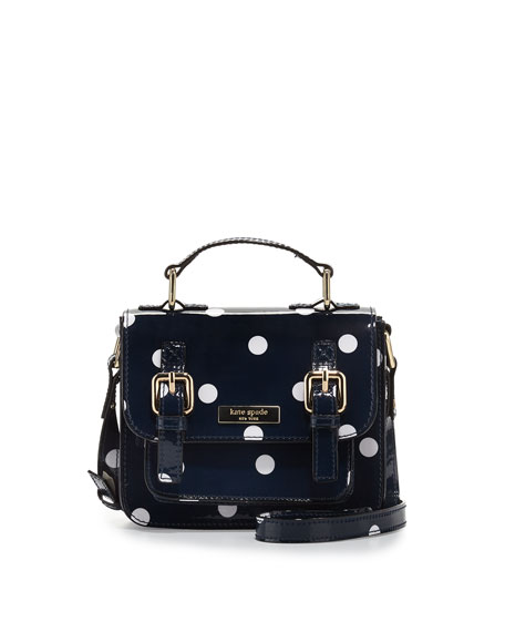 Kate spade new york scout girls polka dot crossbody bag navy scout girls polka dot crossbody bag junglespirit Image collections
