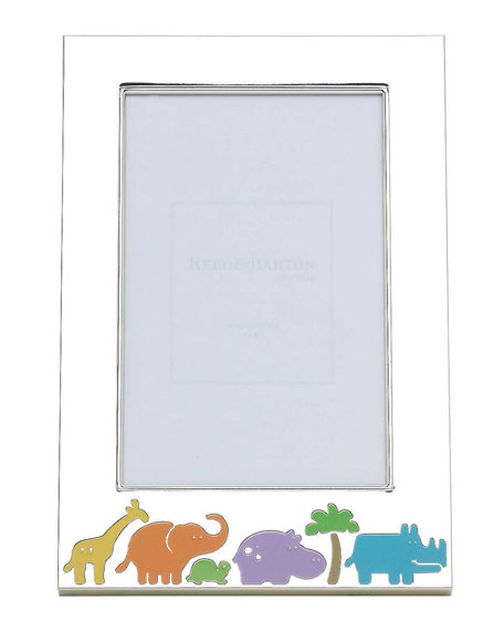 Reed & Barton Jungle Parade Picture Frame