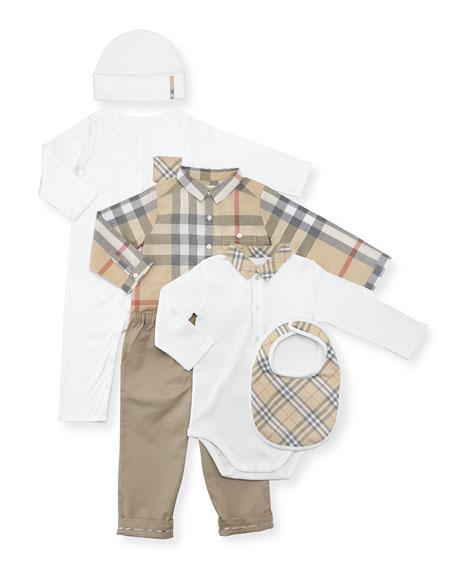 Boys' Maximilian Layette Set, White, Size 3-18 Months