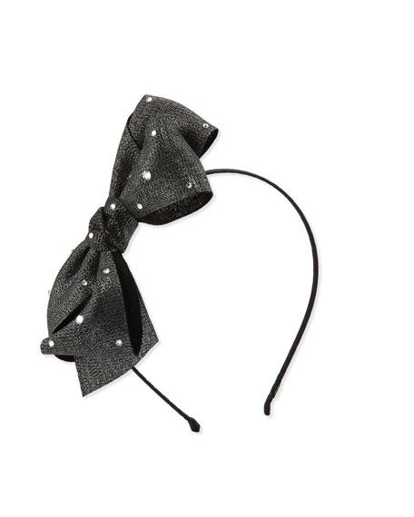 Canvas Bow Headband