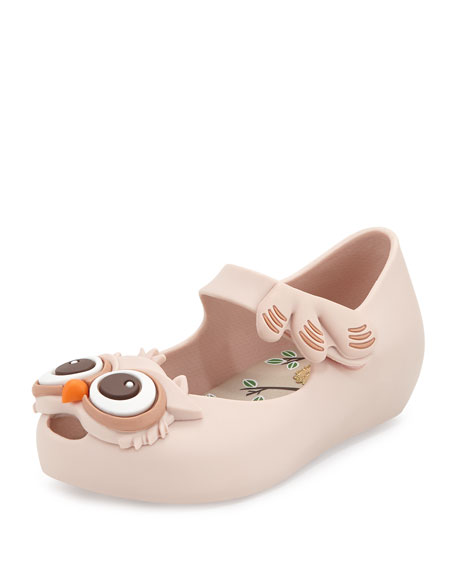 Melissa Shoes Ultragirl V Owl Mary Jane Jelly