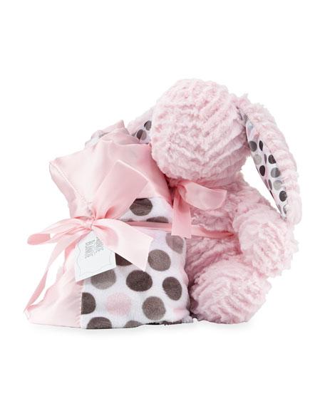 Swankie Blankie Ziggy Bunny & Blanket Gift Set,