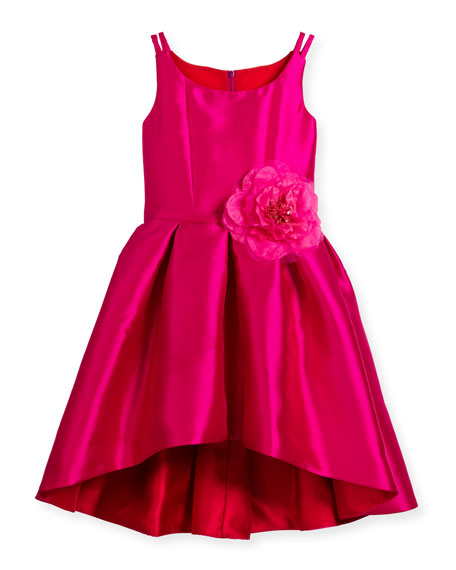 Red dress size 7 pink
