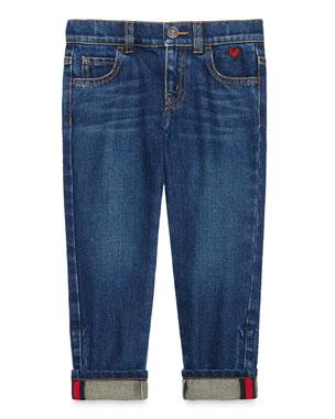 bbd3946de0081 Gucci Medium Washed Skinny Jeans