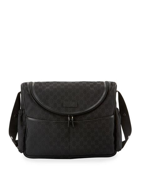 08b075e8118a Gucci Diaper Bag Neiman Marcus. Gucci Diaper Bag Gucci Guccissima  Faux-Leather Diaper Bag w/ Changing Pad ...