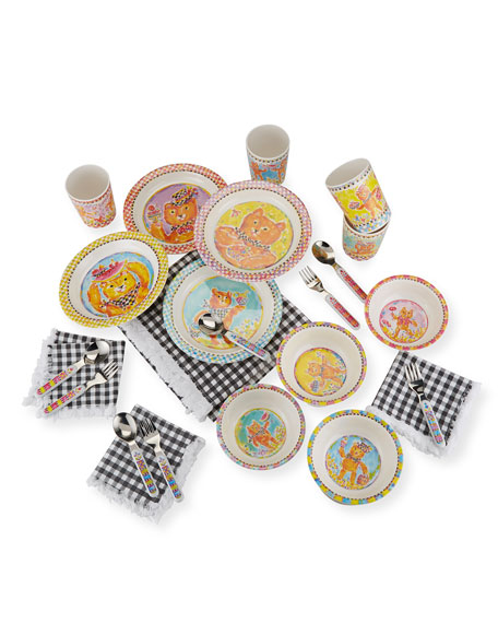 MacKenzie-Childs Toddlers' Teddy Bear Picnic Set