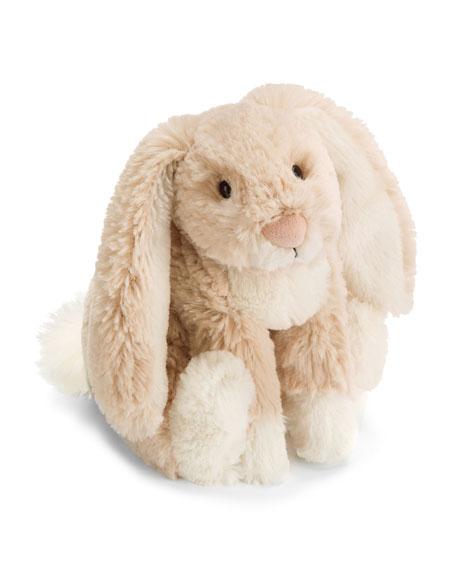 Loppy Plush Bunny, Oatmeal