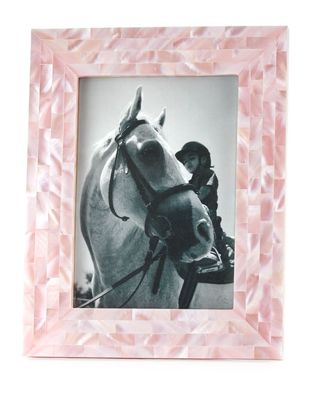 """Mother-of-Pearl Frame, 5"""" x 7"""""""