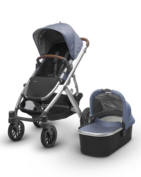 UPPAbaby VISTA™ All-in-One Stroller, Henry (Blue Marl)