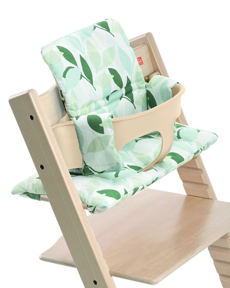 Tripp Trapp® Seat Cushion, Green Forest