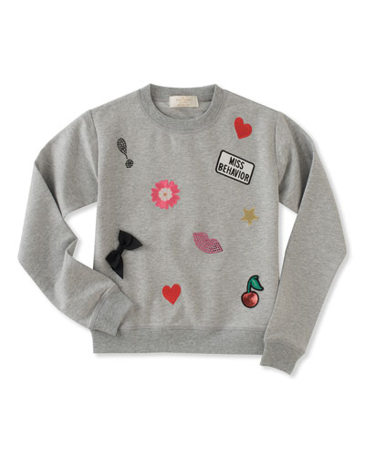 Babies Patched Sweatshirt Se