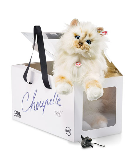 "x Karl Lagerfeld ""Choupette"" Stuffed Cat"