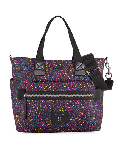 Mixed Berries Printed Biker Diaper Bag