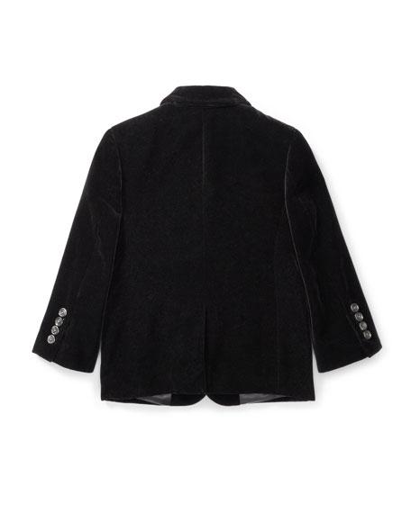Ralph Lauren Childrenswear Polo II Velvet Blazer, Size 2-3