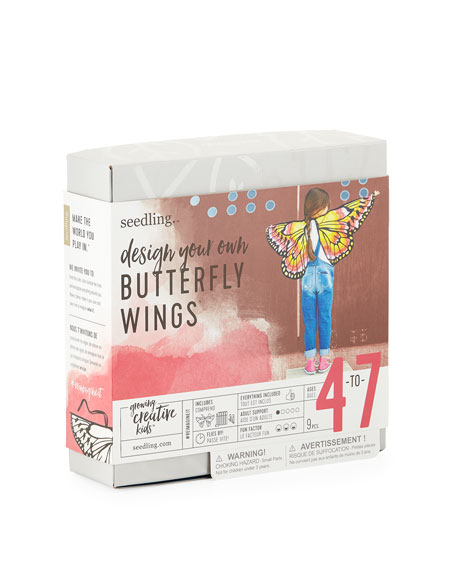 Seedling Design Your Own Butterfly Wings Kit, Ages