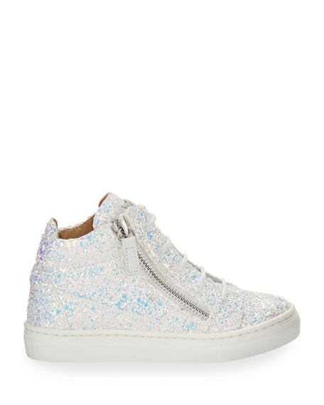 Mattglitt Hitop Glitter High-Top Sneakers, Infant/Toddler Sizes 6M-9T