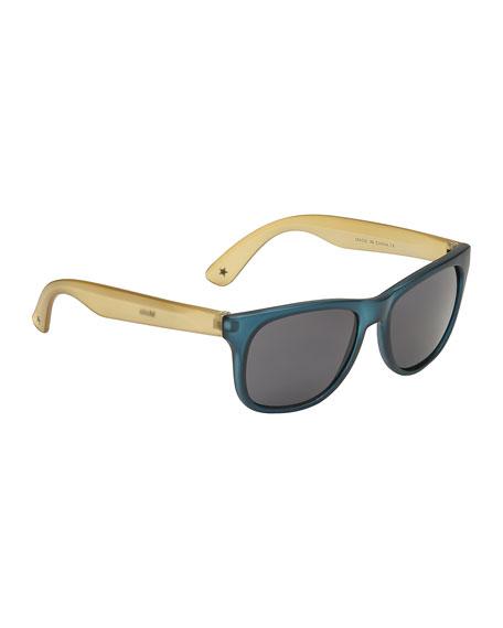 Molo Kids' Two-Tone Translucent Sunglasses