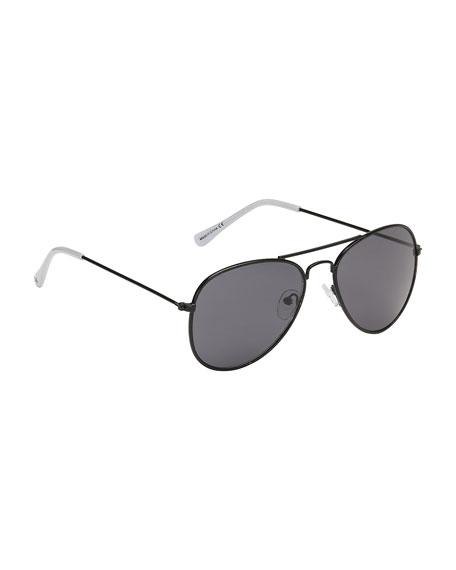 Molo Kids' Sheriff Aviator Sunglasses