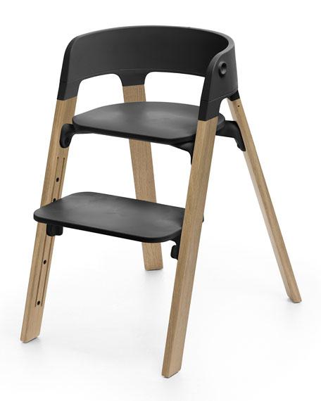 Stokke Steps Complete Chair, Light Brown