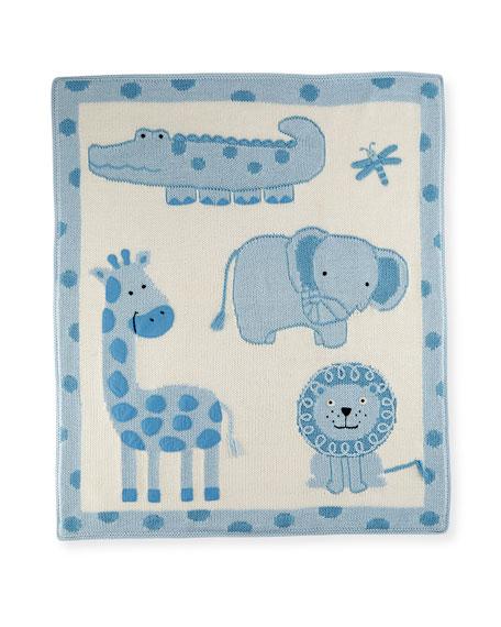 Art Walk Jungle Cotton Baby Blanket