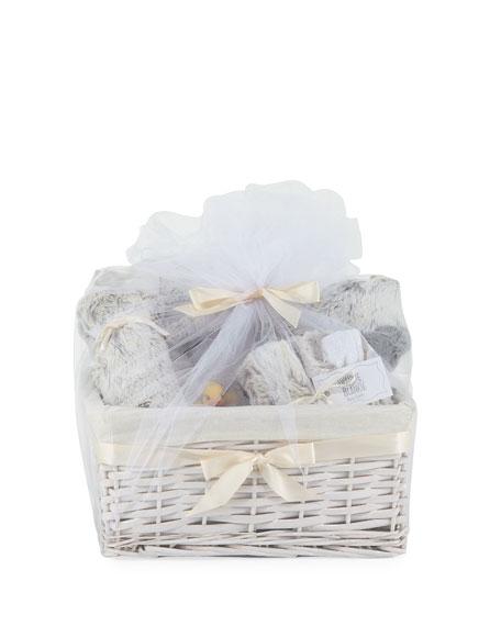Swankie Blankie Aspen Plush Gift Basket