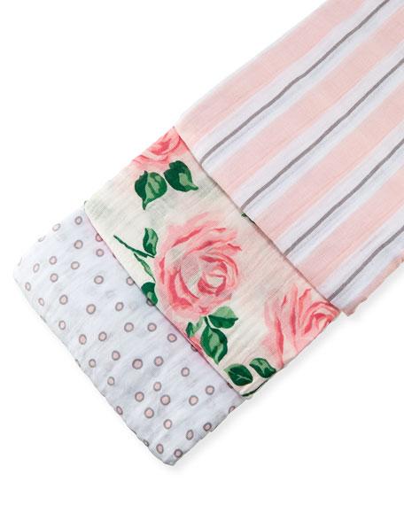 Swankie Blankie 3-Piece Swaddle Blanket Box Set