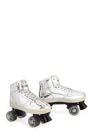 Kids' Pulse Light-Up Skates, Silver