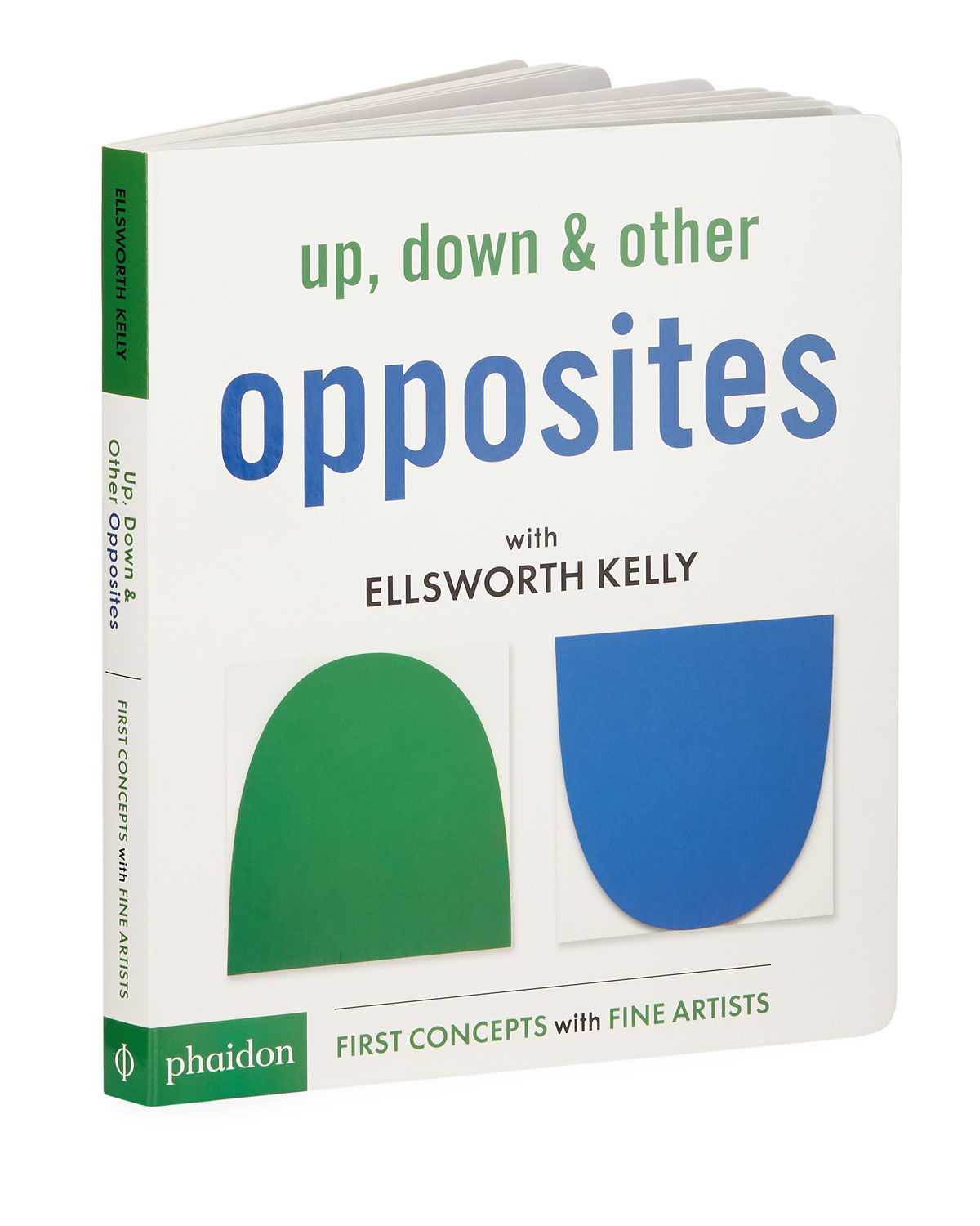 """Up, Down & Other Opposites with Ellsworth Kelly"" Children's Book"