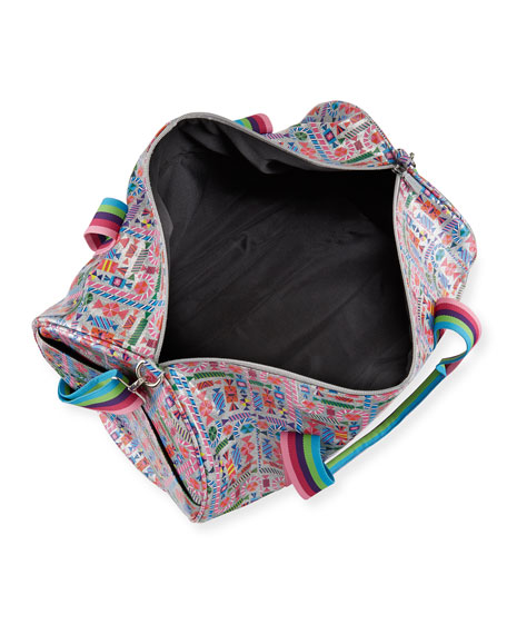45e1dfff78 Image 2 of 3  Girls  Candy-Print Shimmer Duffel Bag