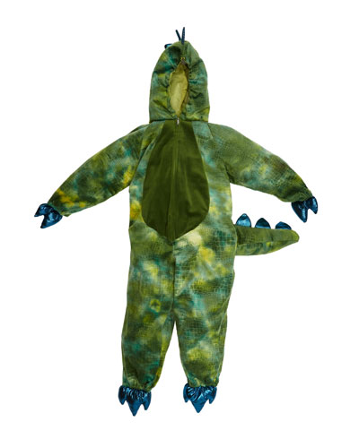 Kids' T-Rex Dinosaur Jumpsuit Costume, 5-6 Years