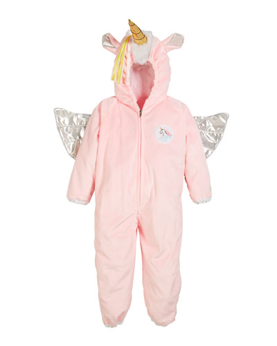 Kids' Unicorn Jumpsuit Costume, 3-4 Years