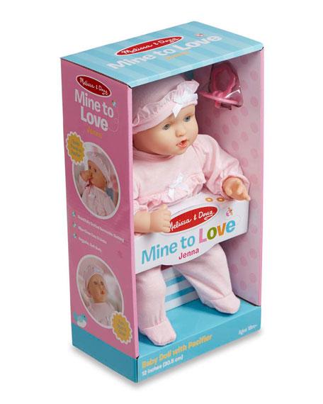 Melissa & Doug Mine to Love Jenna Baby Doll