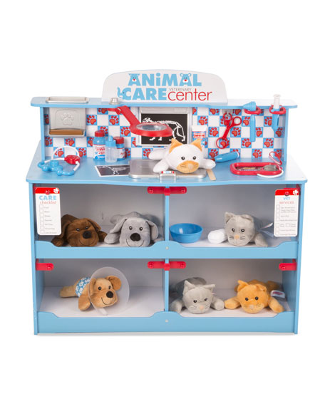 Melissa & Doug Kids' Pet Center Play Veterinarian Set
