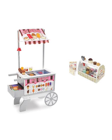 Melissa & Doug Let's Play Snacks & Sweets Cart