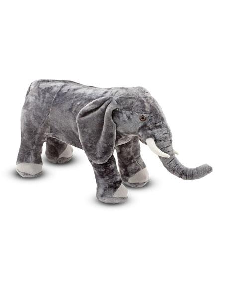 Melissa & Doug Elephant Giant Stuffed Animal