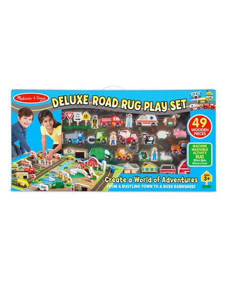 Melissa & Doug Deluxe Road Rug Play Set