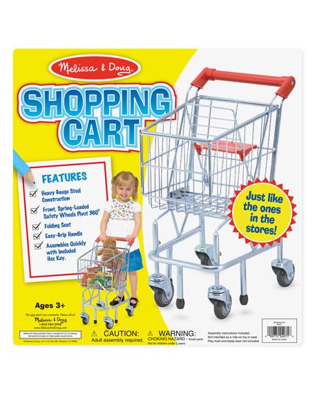 Melissa & Doug Kids' Grocery Shopping Cart Toy