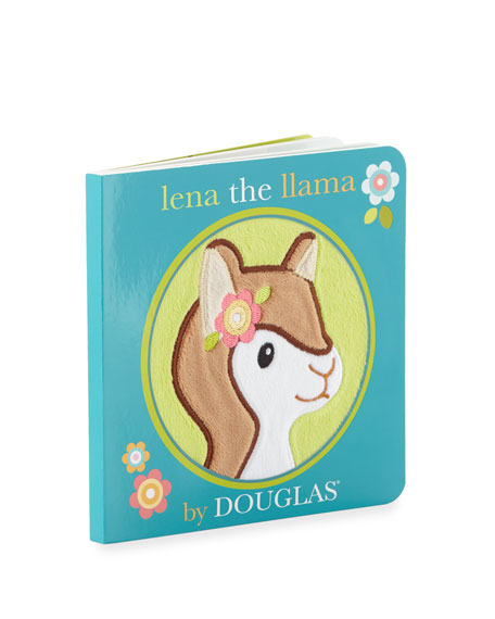 "Douglas ""Lena The Llama"" Children's Board Book by Douglas"