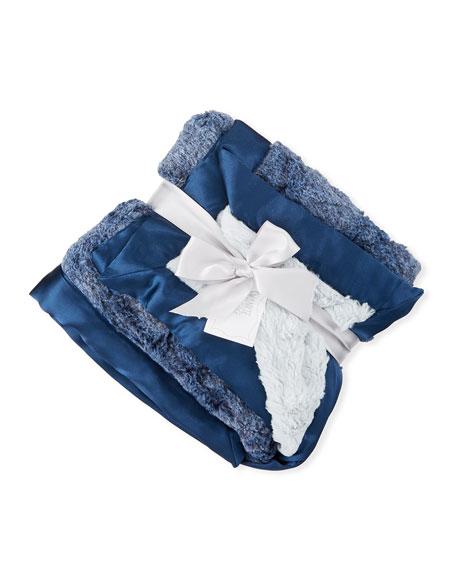 Swankie Blankie Riley Receiving Blanket, Blue