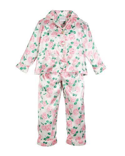 Isabella Rose Pajama Set, Size 3T-8