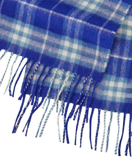 Burberry Kids' Cashmere Vintage Check Scarf