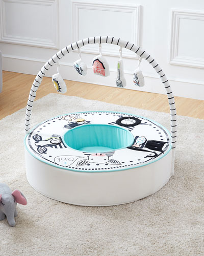 Baby Den with Activity Arch