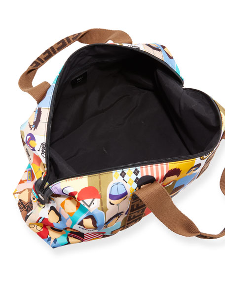 Fendi Friends-Print Diaper Bag