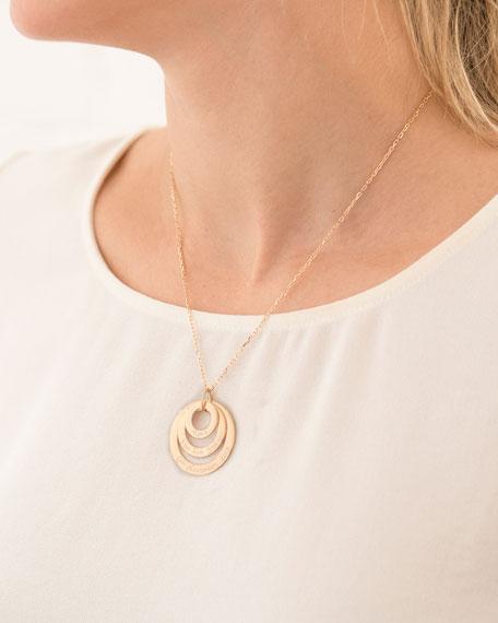 Merci Maman Personalized Eternity Trio Necklace