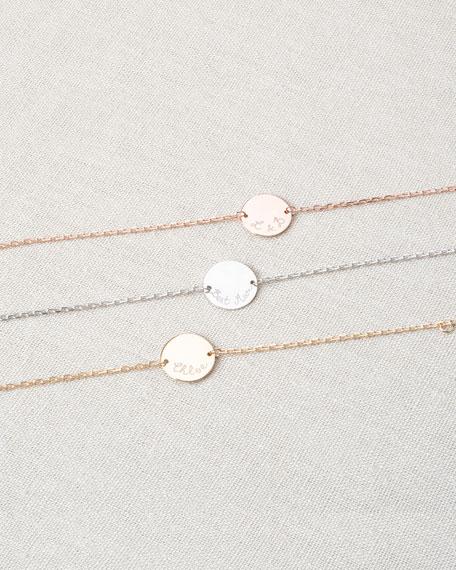 Merci Maman Personalized Pastille Chain Bracelet